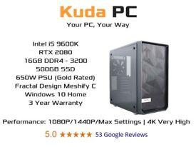 GAMING PC - i7 7700 - 16GB DDR4 - GTX 1070 8GB - 250GB SSD - 1TB HDD