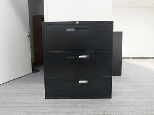 3 drawer lateral filing cabinet ( global) & 4 drawer lateral filing cabinet ( haworth)