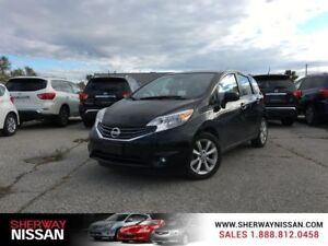 2014 Nissan Versa Note,one owner accident free trade,with naviga