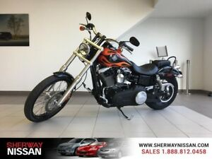2012 Harley Davidson Wide Glide,103 ci, 1688cc,in black,only 126