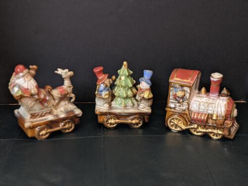 Christmas Ceramic Santa Train