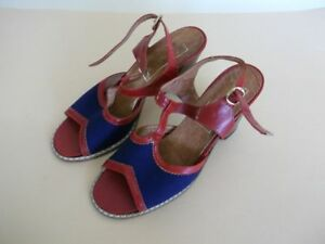 Vintage Raphael Women's Sandals from 1970,Brand New