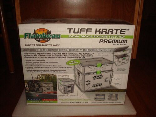 Flambeau Tackle Outdoors 455TKP Tuff Krate - Premium