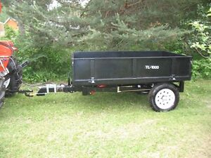 New Hydraulic Dump Trailer for Tractor