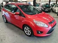 2011 Ford C-MAX 1.6 ZETEC PETROL-RED-SH-LOVELY FAMILY CAR-MUST SEE MPV Petrol Ma