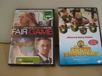 2 DVD's $4.00 each - Fair Game w/ Sean Penn & Super Troopers