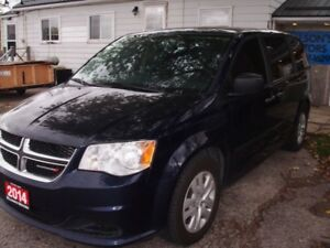 2014 Dodge Grand Caravan Minivan, Van  $9875.00