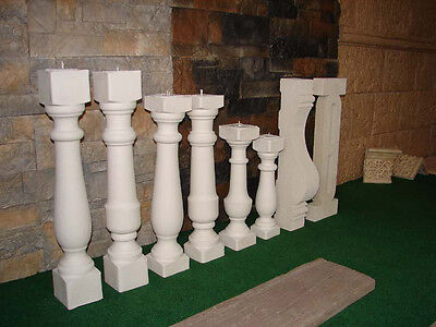 Baluster Balustraden Balustrade Geländer Zäune Balkon Zaun Säulen Gartenzaun