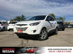 2015 Hyundai Tucson,only 20345 kms,accident free! Priced to sell