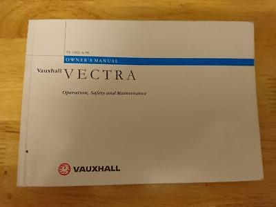 1997 Vauxhall Vectra Owners' Manual