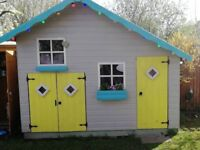 Wendy house play house with mezzanine