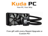 Kuda PC - Corsair Hydro Series H100i V2 - All-In-One Liquid CPU Cooler - NEW - FREE DELIVERY