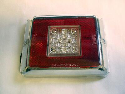 Bargman LED Backup Lens Module w/ Plug Light Truck RV