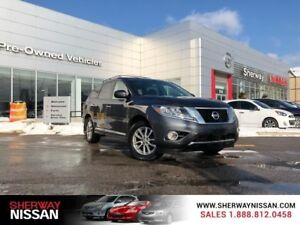 2014 Nissan Pathfinder awd,accident free one owner trade,priced