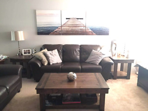 Harvest coffee,end and sofa tables  - custom built