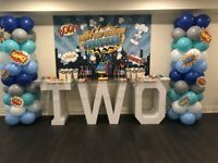 Party, Weddings and Marquee Lettering - GTA backdrop rental