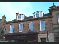 Single room to let for lodger in Dalkeith town centre (No bills)