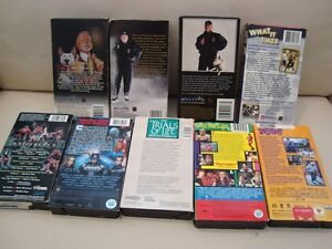 Lot of 8 VHS Tapes - Don Cherry x3,Tie Domi, Batman +More Kitchener / Waterloo Kitchener Area image 7