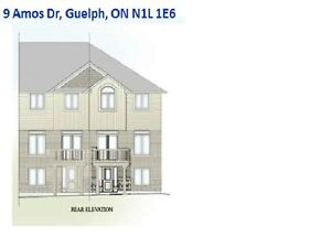 Brand New One-Bedroom Apt. in Walk-Out Basement at South Guelph