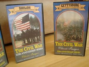 The Civil War 125th Anniversary Series 4 VHS Set -Mint Condition Kitchener / Waterloo Kitchener Area image 3