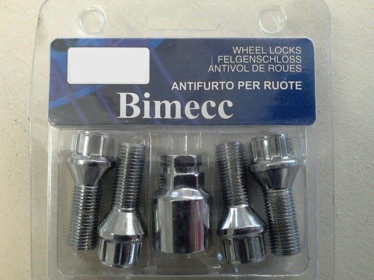 Set of 4 wheel bolts Zinc plated M14x1.5 17mm hex Star Key Alloy wheel bolts slim fit Tuner style 28mm thread length M14 x 1.5 Taper seat