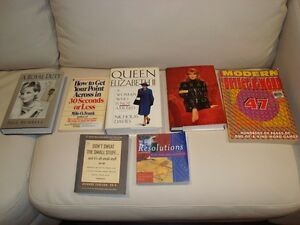 One Lot of 7 Books - Awesome condition - All for $7.00 total Kitchener / Waterloo Kitchener Area image 1