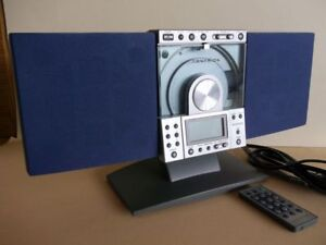 Centrios Vertical CD Player/Alarm Clock/Radio