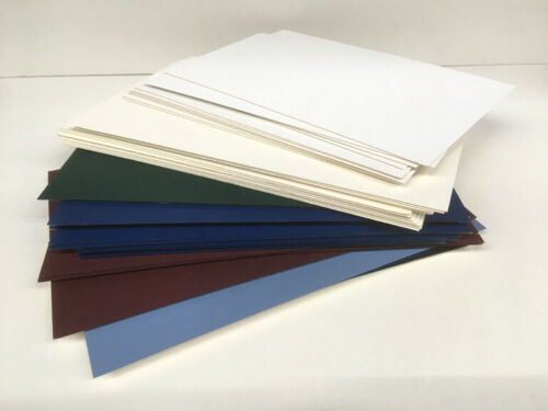 50 Mat-Board Blanks Random Sizes 6x8 - 8x12 Beveled Drop-Out / Fall-Outs 75%OFF