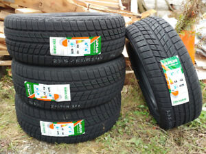 New 235/55R19 winter tires, $560 for 4