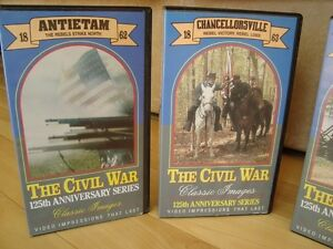 The Civil War 125th Anniversary Series 4 VHS Set -Mint Condition Kitchener / Waterloo Kitchener Area image 2