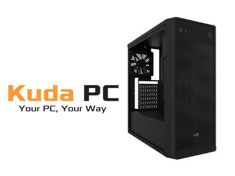KUDA GAMING PC - i3 7100 - RX 560 4GB- 8GB DDR4 - 1TB HD - WIN 10 - 3 YEAR WARRANTY
