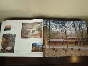 Coffee Table Book -Living Treasures Lindal Cedar Homes -231Pages Kitchener / Waterloo Kitchener Area image 5