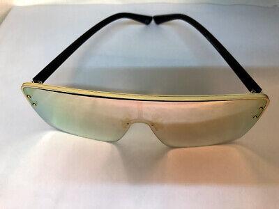 Fashion Sonnenbrille - UNISEX Brille Model: 2019 - Goldspiegel glas
