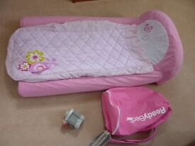 Ready Bed - Inflatable Childs Bed in Pink