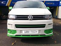 VW T5 Van 2010 – Sportline Front Lower Spoiler / Splitter
