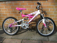 Girls 5 speed bike