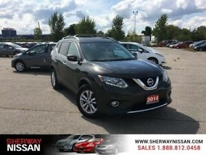 2014 Nissan Rogue,accident free,SV awd,panaramic roof,low kms,on