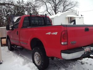 1999 FORD F250 2 DOOR 4X4 with PLOW London Ontario image 2