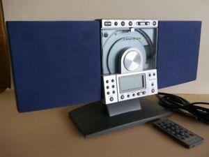 Centrios Vertical CD Player/Alarm Clock/Radio AM/FM