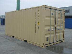 NEW 20' Shipping Containers for Sale.
