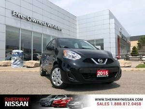 2015 Nissan Micra sv, accident free fuel saver!