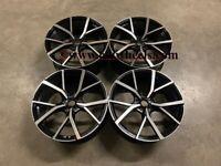 """18 19 20"""" Inch Estoril Style Alloy Wheels VW Golf MK5 MK6 MK7 MK8 Audi A3 Seat Leon Caddy 5x112"""