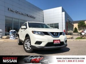 2015 Nissan Rogue S Fwd,only 47000 kms and accident free.