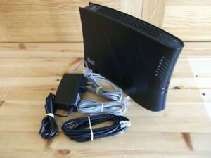Bell Sagemcom Modem,Like New with REMOTE Control