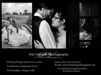 Wedding Photography starting at $600 - 2017 Dates Available