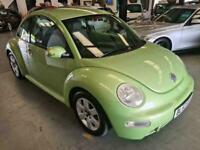 2003 Volkswagen Beetle 1.8T-FSH-GREEN-BELTS DONE-LOVELY LITTLE CAR Hatchback Pet
