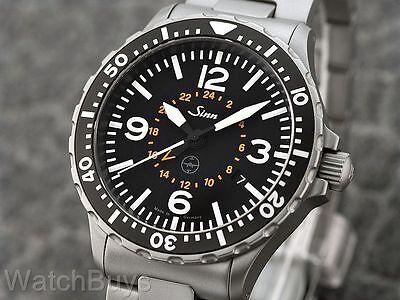 SINN 857 UTC/GMT TESTAF - Bracelet - Tegimented - Perfect - 100% Authentic - WOW