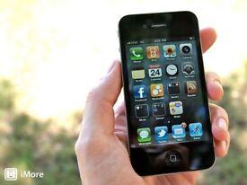 Black Iphone 4 UNLOCKED - Good condition