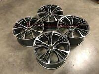 22″ Inch BMW X5 X6 599M Style alloy Wheels 5x120 74.1 E70 E71 F15 F16 E53
