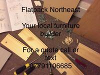 Flatpack furniture builder